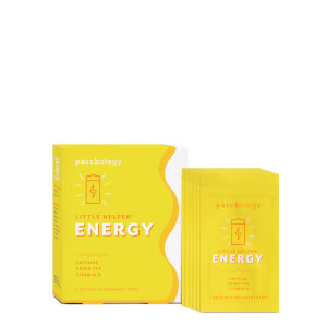 Patchology Little Helper Supplement Strips - Energy (6 Pack)