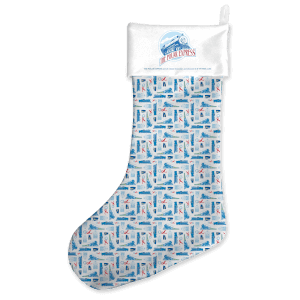 Polar Express Christmas Stocking