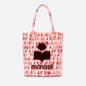 Isabel Marant Women's Yenky Tie Dye Tote Bag - Red
