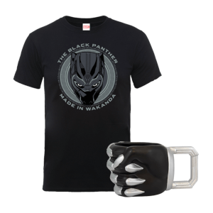 Bundle Black Panther (Tazza + T-Shirt)