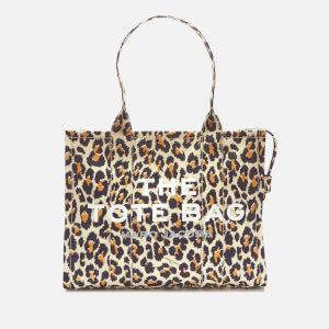 Marc Jacobs Women's Leopard Traveler Tote Bag - Natural Multi