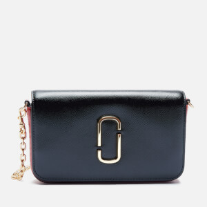 Marc Jacobs Women's Crossbody with Chain - Black/Red