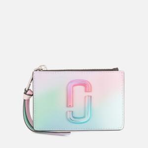 Marc Jacobs Women's Top Zip Multi Wallet - Green Multi