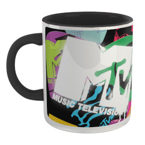 MTV Mug - White/Black