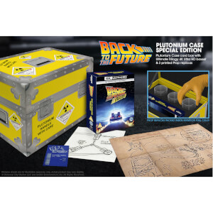 Back To The Future The Ultimate Trilogy - Zavvi Exclusive 4K Ultra HD Plutonium Case Collector's Edition Box Set