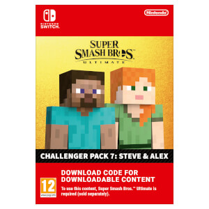 Super Smash Bros Ultimate - Steve & Alex Challenger Pack - Digital Download
