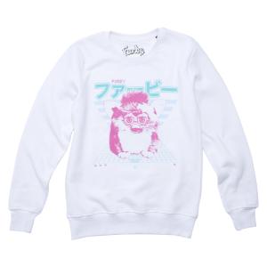 Furby Retro Sweatshirt - White