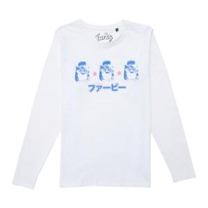 Furby Team Furby Unisex Long Sleeve T-Shirt - White