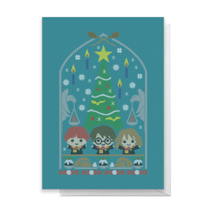 Harry Potter Trio Greetings Card
