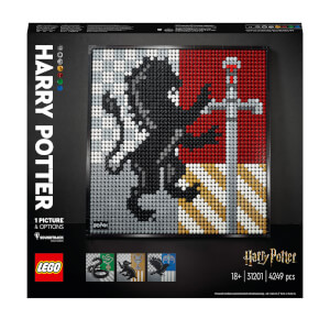 LEGO ART: Harry Potter Hogwarts Crests (31201)