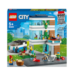 LEGO City: Community Family House Modern Building Set (60291)
