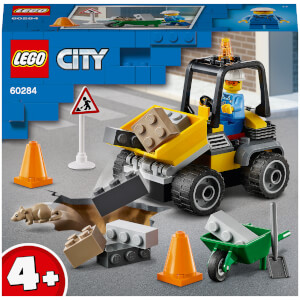 LEGO City Great Vehicles: Roadwork Truck (60284)
