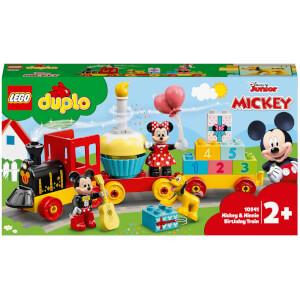 LEGO DUPLO Disney: Mickey & Minnie Birthday Train Toy (10941) from I Want One Of Those