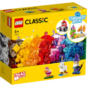 LEGO Classic: Creative Transparent Bricks Medium Set (11013)