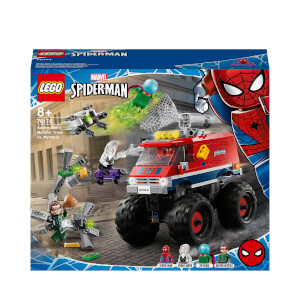 LEGO Marvel Spider-Man's Monster Truck vs Mysterio Toy (76174)