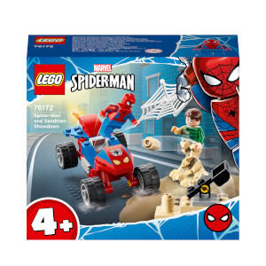 LEGO Super Heroes: Spider-Man and Sandman Showdown (76172)