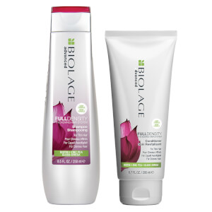 Biolage Advanced FullDensity Thickening Shampoo (250ml) and Conditioner (200ml) Duo Set for Thin Hair