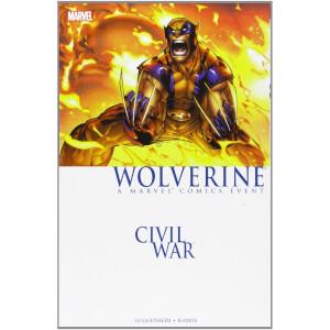 Marvel Civil War: Wolverine Graphic Novel Paperback