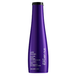 Shu Uemura Art of Hair Yubi Blonde Anti-Brass Purple Shampoo for Bleached, Highlighted Blonde Hair 300ml