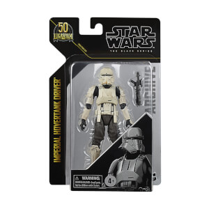Figurine Pilote d'Hovertank Hasbro Star Wars Black Series Archive Imperial