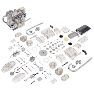 Franzis Official BMW Motorcycle Engine