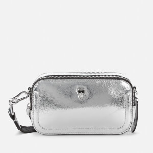 Karl Lagerfeld Women's K/Ikonik 3D Pin Camera Bag - Silver