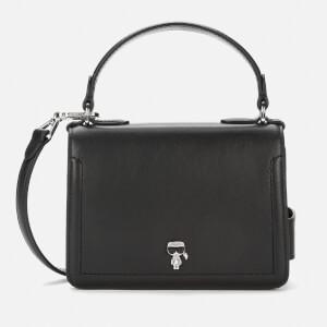 Karl Lagerfeld Women's K/Ikonik 3D Pin Flap Cross Body Bag - Black