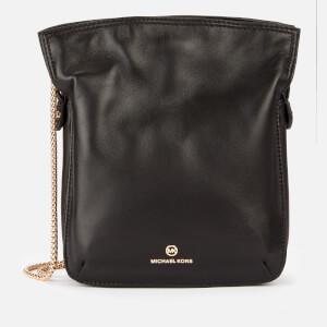 Michael Michael Kors Women's Tati Medium Nortsouth Chain Bag - Black