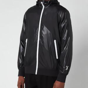 Kenzo Men's Sport Zip Through Hooded Windbreaker - Black