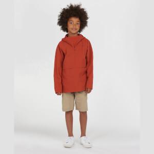 Barbour Boys' Alnot Half Zip Jacket - Sunset Orange
