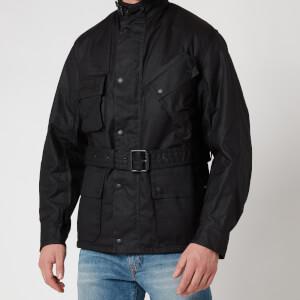Barbour International Men's Winter Wax Jacket - Black