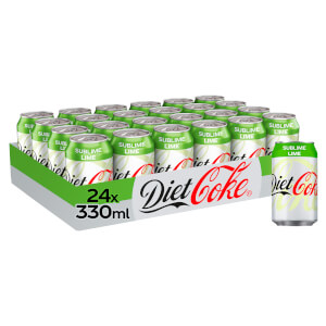 Diet Coke Sublime Lime 24 x 330ml