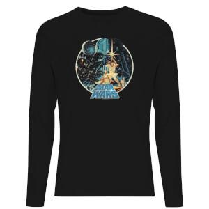 Star Wars Classic Vintage Victory Unisex Long Sleeve T-Shirt - Black