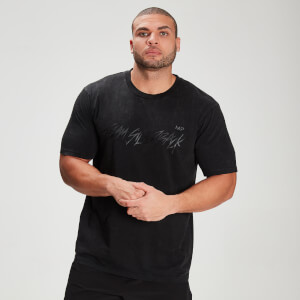 MP X Zack George Men's Washed T-Shirt - Black