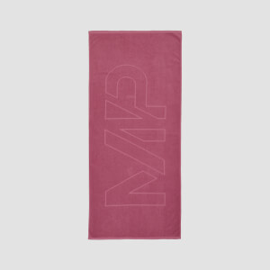 MP Logo Beach Towel - Frosted Berry