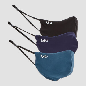 MP Mask (3 Pack) - Black/Navy/Sea Blue