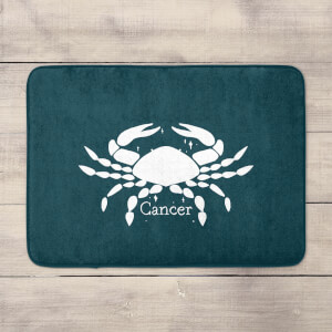 Navy Cancer Bath Mat