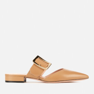 Bally Women's Jemina Flat Leather Mules - Bridle