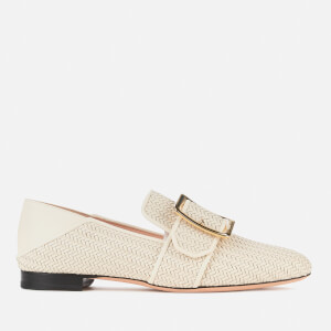 Bally Women's Janelle-Intr Leather Loafers - Bone