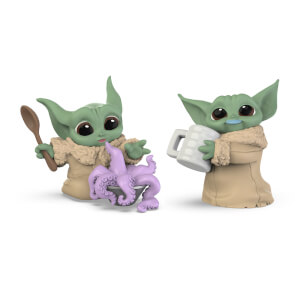 Collection Star Wars The Bounty - L'enfant - Lot de 2 :  Soupe aux tentacules surprise & Moustache de lait bleu