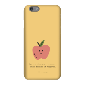 Don't Cry Because It's Over Phone Case for iPhone and Android
