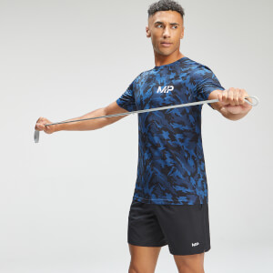 MP Men's Adapt Camo Short Sleeve T-Shirt - Blue Camo