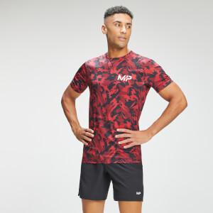 MP Men's Adapt Camo Short Sleeve T-Shirt- Red Camo
