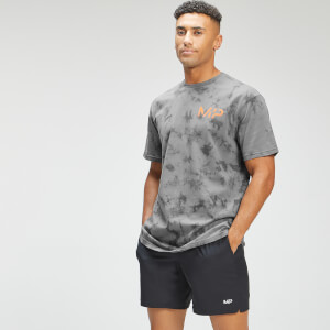 MP Men's Adapt Tie Dye Short Sleeve Oversized T-Shirt - Carbon/Storm
