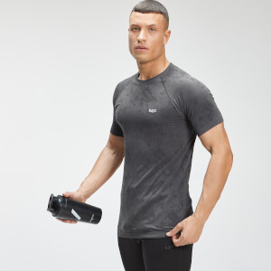 MP Men's Essential Seamless Graphic Short Sleeve T-Shirt - Black