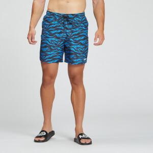 MP muške kratke hlače za plivanje Pacific s otiskom – plava
