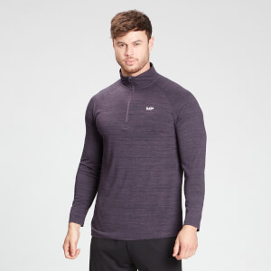 MP Men's Performance 1/4 Zip Top - Smokey Purple Marl