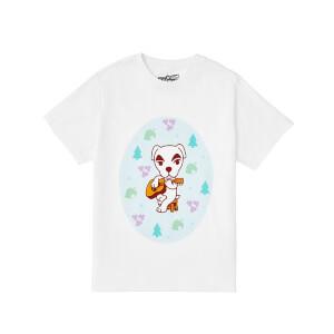Nintendo Animal Crossing The Wandering Musician Unisex T-Shirt - White