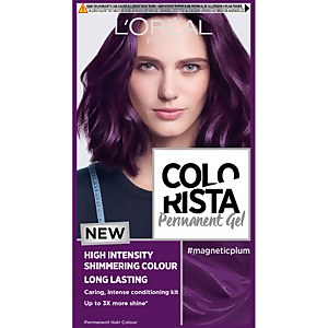 L'Oréal Paris Colorista Magnetic Long-Lasting Permanent Hair Dye Gel - Magnetic Plum 1ml