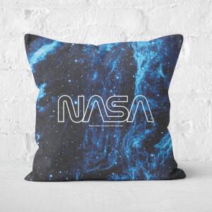 NASA Resting On Cygnus Loop Square Cushion